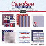 Scrapbook Customs - Hockey Collection - 12 x 12 Collection Kit - Canadiens Pride