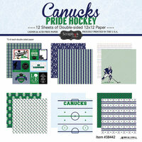 Scrapbook Customs - Hockey Collection - 12 x 12 Collection Kit - Canucks Pride