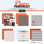 Scrapbook Customs - Hockey Collection - 12 x 12 Collection Kit - Flyers Pride