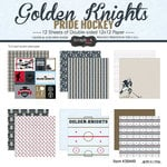 Scrapbook Customs - Hockey Collection - 12 x 12 Collection Kit - Golden Knights Pride