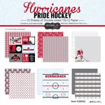 Scrapbook Customs - Hockey Collection - 12 x 12 Collection Kit - Hurricanes Pride