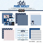 Scrapbook Customs - Hockey Collection - 12 x 12 Collection Kit - Jets Pride