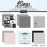 Scrapbook Customs - Hockey Collection - 12 x 12 Collection Kit - Kings Pride