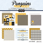 Scrapbook Customs - Hockey Collection - 12 x 12 Collection Kit - Penguins Pride