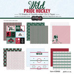 Scrapbook Customs - Hockey Collection - 12 x 12 Collection Kit - Wild Pride