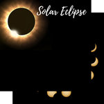 Scrapbook Customs - 12 x 12 Double Sided Paper - Solar Eclipse