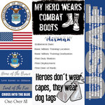 Scrapbook Customs - Military Collection - 12 x 12 Paper - Air Force - Tags