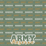 Scrapbook Customs - Military Collection - 12 x 12 Paper - Army - Reserve