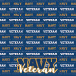 Scrapbook Customs - Military Collection - 12 x 12 Paper - Navy - Veteran