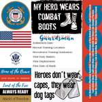 Scrapbook Customs - Military Collection - 12 x 12 Paper - Coast Guard - Tags
