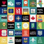 Scrapbook Customs - Canadian Province Adventure Collection - 12 x 12 Paper - Adventure Cut Outs - Alberta