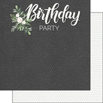 Scrapbook Customs - Her Birthday Collection - 12 x 12 Double Sided Paper - Party