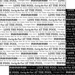 Scrapbook Customs - Sports Pride Collection - 12 x 12 Double Sided Paper - At The Pool 2