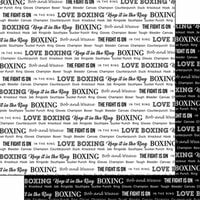 Scrapbook Customs - Sports Pride Collection - 12 x 12 Double Sided Paper - Boxing 2