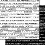 Scrapbook Customs - Sports Pride Collection - 12 x 12 Double Sided Paper - Lacrosse 2
