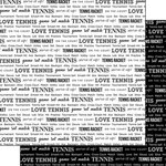 Scrapbook Customs - Sports Pride Collection - 12 x 12 Double Sided Paper - Tennis 2