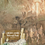 Scrapbook Customs - United States National Parks Collection - 12 x 12 Double Sided Paper - Watercolor - Carlsbad Caverns