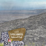 Scrapbook Customs - United States National Parks Collection - 12 x 12 Double Sided Paper - Watercolor - Hawaii Volcanoes