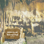 Scrapbook Customs - United States National Parks Collection - 12 x 12 Double Sided Paper - Watercolor - Mammoth Cave