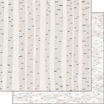 Scrapbook Customs - United States National Parks Collection - 12 x 12 Double Sided Paper - Birch Tree Bark