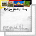 Scrapbook Customs - Sights Collection - 12 x 12 Double Sided Paper - City - Berlin