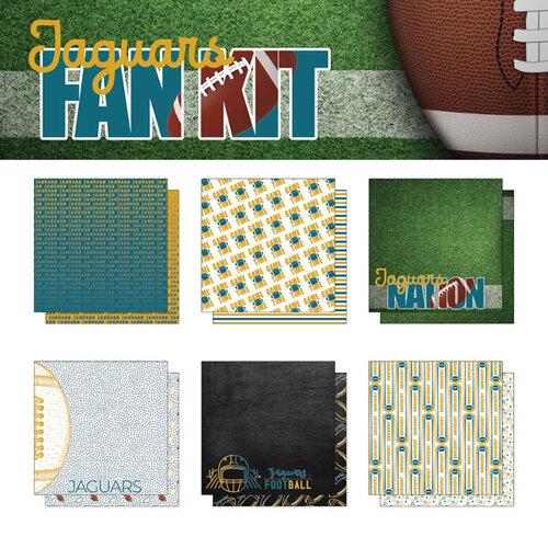 Scrapbook Customs - Football Fan Collection - 12 x 12 Collection Kit - Jaguars
