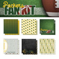 Scrapbook Customs - Football Fan Collection - 12 x 12 Collection Kit - Packers