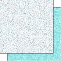 Scrapbook Customs - Inspired By Collection - 12 x12 Double Sided Paper - Ice Princess