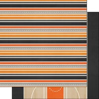 Scrapbook Customs - Sports Addict Collection - 12 x 12 Double Sided Paper - Basketball Addict 3