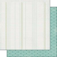 Scrapbook Customs - Covid-19 Collection - 12 x 12 Double Sided Paper - Graph
