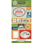 Scrapbook Customs - Vintage Label Collection - Vintage Paper Cut Outs - Alaska