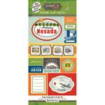 Scrapbook Customs - Vintage Label Collection - Vintage Paper Cut Outs - Nevada