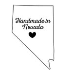 Scrapbook Customs - State Sightseeing Collection - Rubber Stamp - Handmade In - Nevada