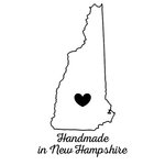 Scrapbook Customs - State Sightseeing Collection - Rubber Stamp - Handmade In - New Hampshire