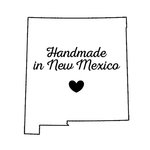Scrapbook Customs - State Sightseeing Collection - Rubber Stamp - Handmade In - New Mexico