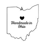 Scrapbook Customs - State Sightseeing Collection - Rubber Stamp - Handmade In - Ohio