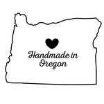 Scrapbook Customs - State Sightseeing Collection - Rubber Stamp - Handmade In - Oregon