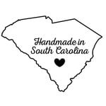 Scrapbook Customs - State Sightseeing Collection - Rubber Stamp - Handmade In - South Carolina