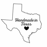 Scrapbook Customs - State Sightseeing Collection - Rubber Stamp - Handmade In - Texas
