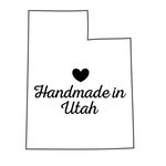 Scrapbook Customs - State Sightseeing Collection - Rubber Stamp - Handmade In - Utah