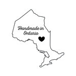 Scrapbook Customs - Canadian Provinces Sightseeing Collection - Rubber Stamp - Handmade In - Ontario