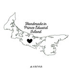 Scrapbook Customs - Canadian Provinces Sightseeing Collection - Rubber Stamp - Handmade In - Prince Edward Island