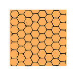 Scrapbook Customs - Rubber Stamp - Honeycomb Background