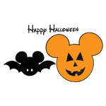 Scrapbook Customs - Rubber Stamp - Magical Balloon Halloween Set