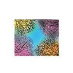 Scrapbook Customs - Rubber Stamp - Coral Background