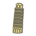 Scrapbook Customs - World Collection - Italy - Laser Cut - Tower of Pisa