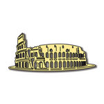 Scrapbook Customs - World Collection - Italy - Laser Cut - Roman Colosseum