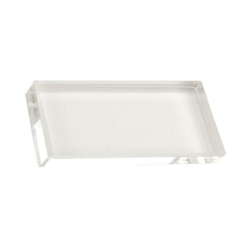 Scrapbook Customs - Clear Acrylic Block - 1.5 x 3
