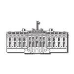 Scrapbook Customs - United States Collection - Washington DC - Laser Cut - White House