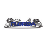 Scrapbook Customs - United States Collection - Florida - Laser Cut - Word and Background